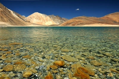 Pangong Lake by think4photop (FreeDigitalPhotos dot net)